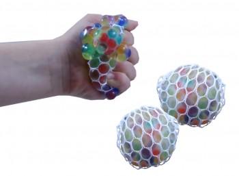 Quetschball im Netz