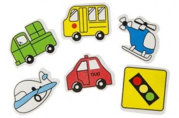Radierer  Auto und Flugzeuge
