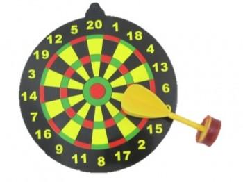 Dartspiel mit Sicherheitspfeil