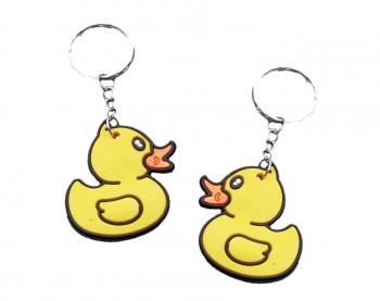 Soft Ente an Schlüsselkette