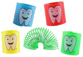 Springspirale Zahn